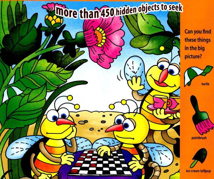 风靡世界的智力游戏《Hidden Pictures》全4册,让孩子边玩边学